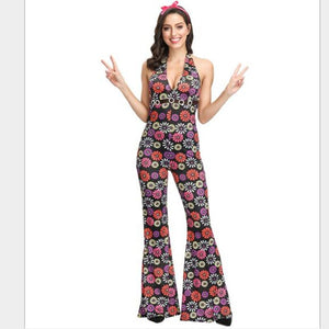 Retro 60s 70s Hippie  Costume - Halloween USA