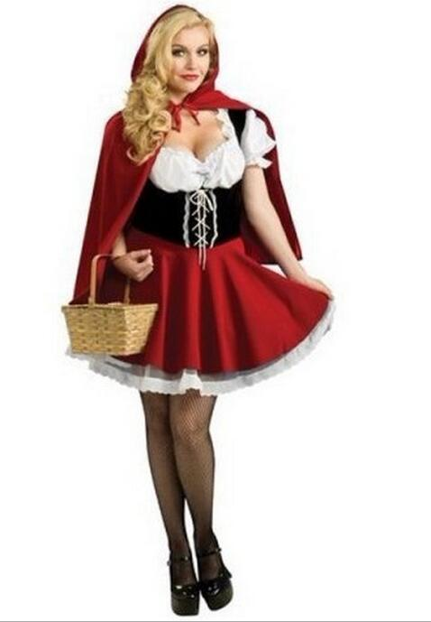 little red riding Costume - Halloween USA