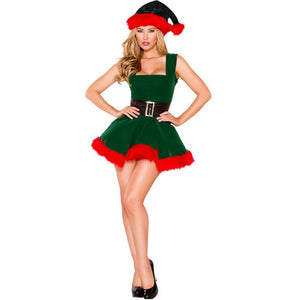 Sexy Christmas Dress Women - Halloween USA