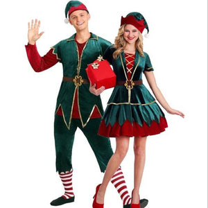 Mr and Mrs Elf Costume - Halloween USA