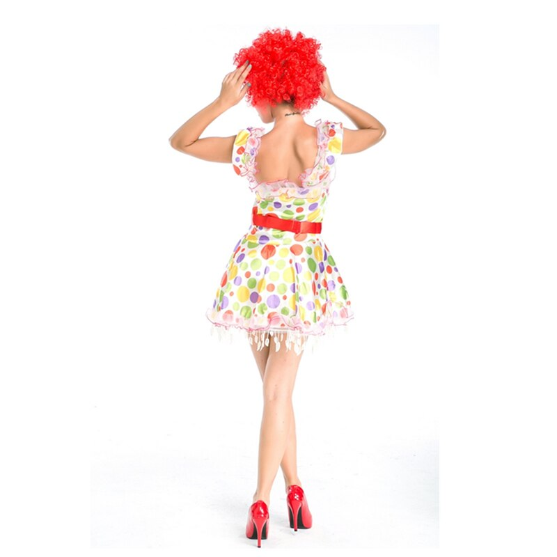 Stylish Circus Clown Costume - Halloween USA