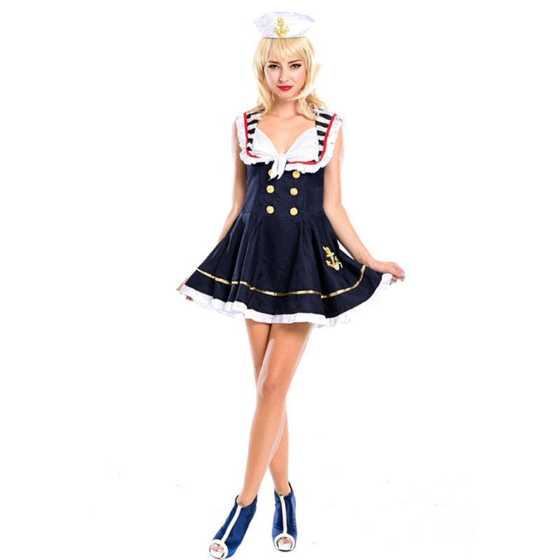 Sexy Sailors  Costume - Halloween USA