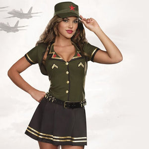 Soldier girl Costume - Halloween USA
