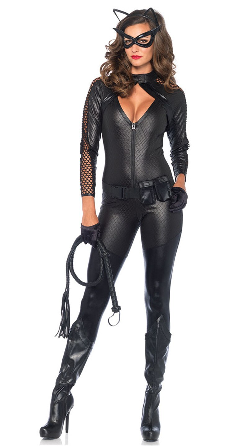 Sexy Catwoman Costume - Halloween USA