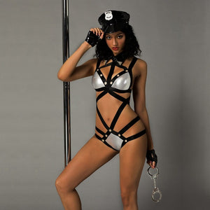 Sexy Dirty Cop Outfit - Halloween USA
