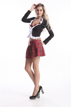 sexy Seductive School Girl - Halloween USA