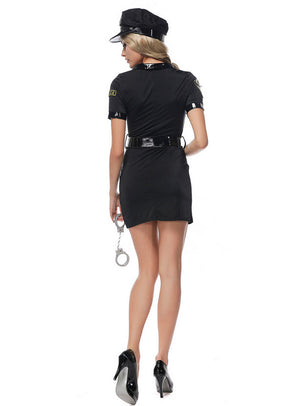 Female Police Officer Uniform - Halloween USA