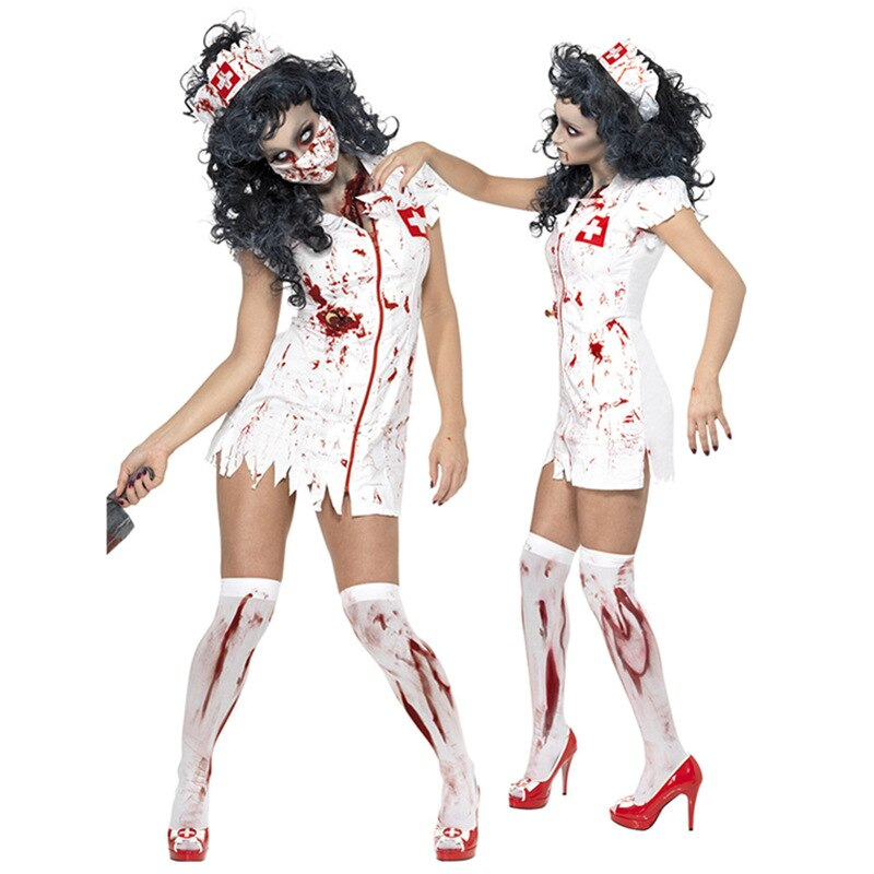 Zombie Nurse Costume - Halloween USA