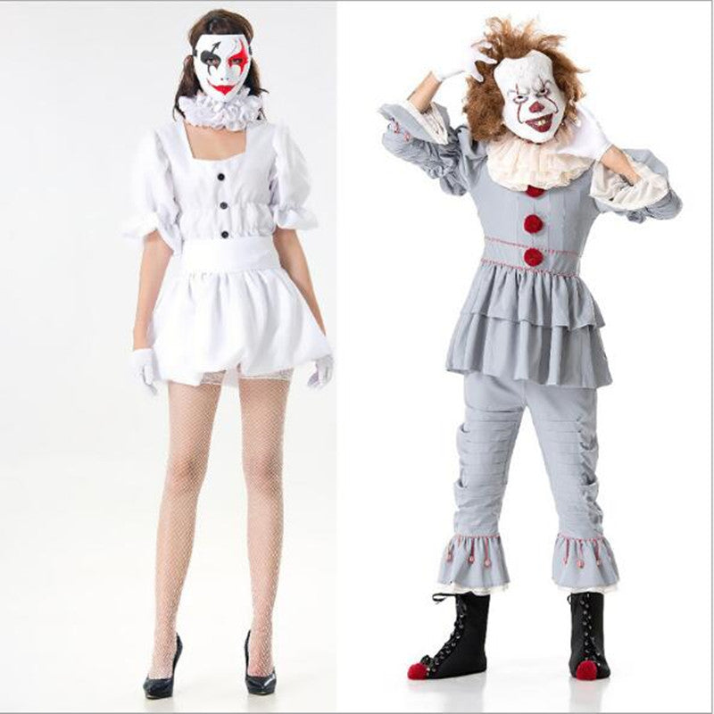 Pennywise women Sexy Clown Costume - Halloween USA