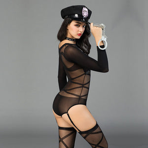 Sexy Police Officer Costume - Halloween USA