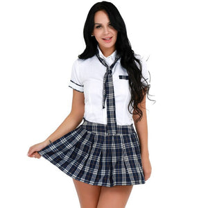 Sexy School Uniform Costume - Halloween USA
