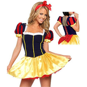 Fairy Tale  Snow White Costume Sexy - Halloween USA