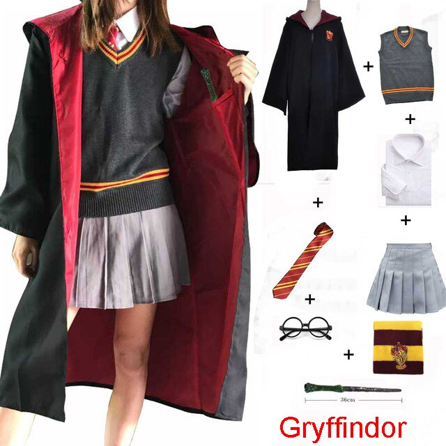 Happy Potter  Gryffindor  Costume