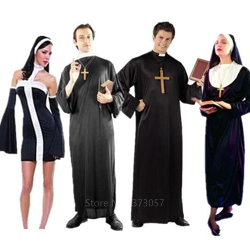 Priest And Nun Costume - Halloween USA