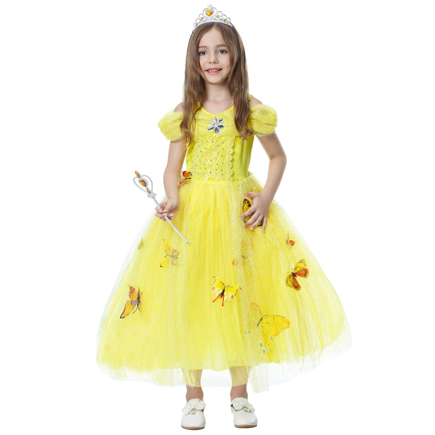 Belle Princess Dress Costumes - Halloween USA