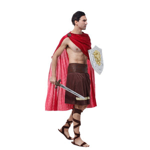 Men's Spartan Warrior Costume - Halloween USA