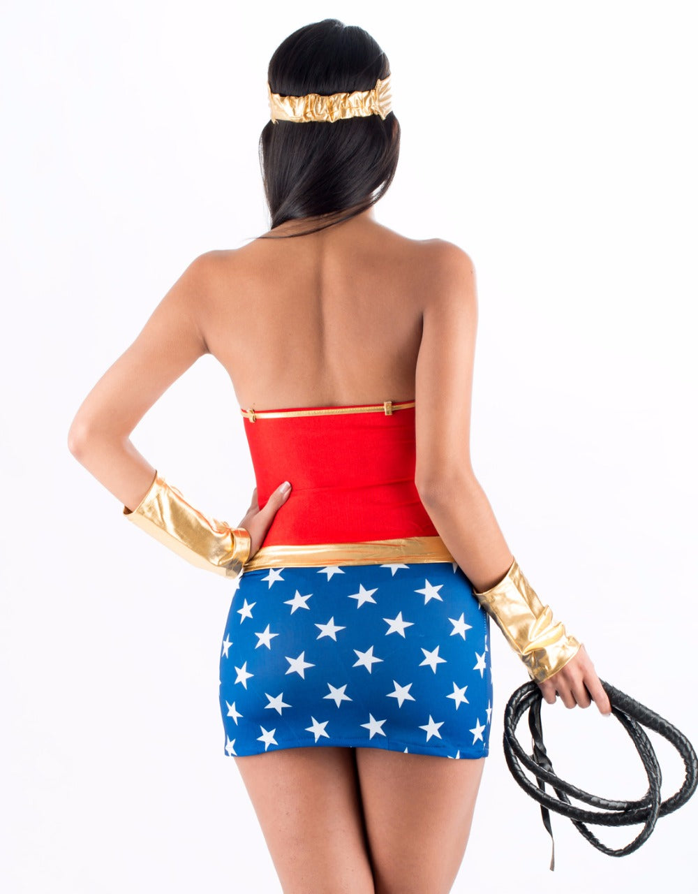 Sexy Wonder Woman Costume - Halloween USA