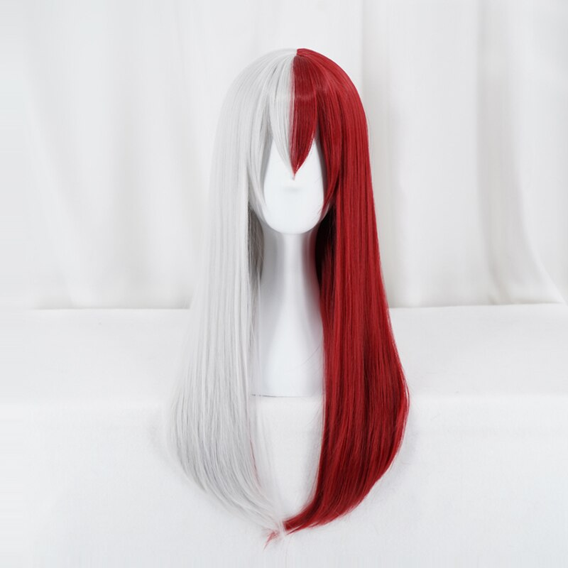 Long Red and White Wig - Halloween USA