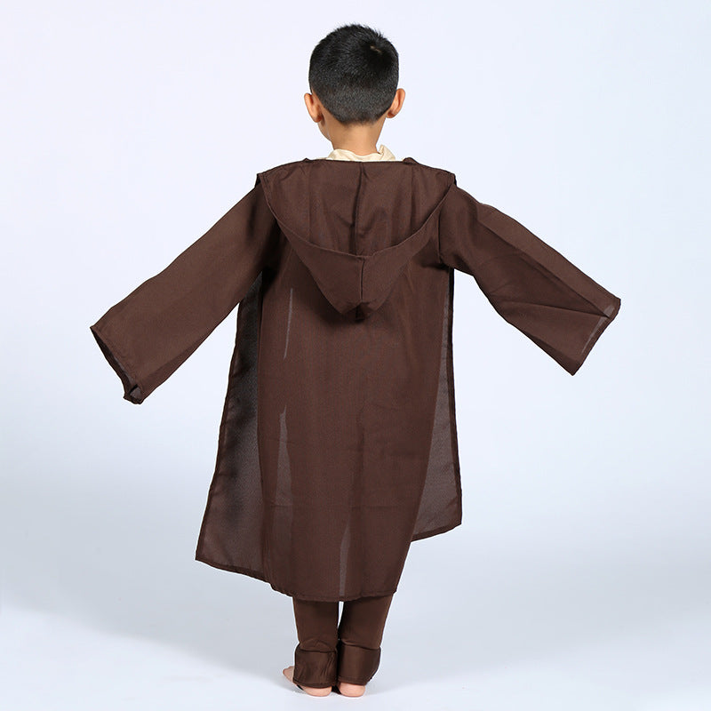 Boys Star Wars Deluxe Jedi Warrior Costumes - Halloween USA
