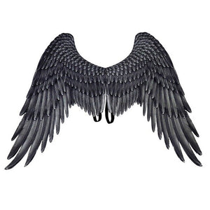 Black & White Angel Wings - Halloween USA