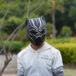Black Panther 2 Claw Gloves Mask Costume - Halloween USA