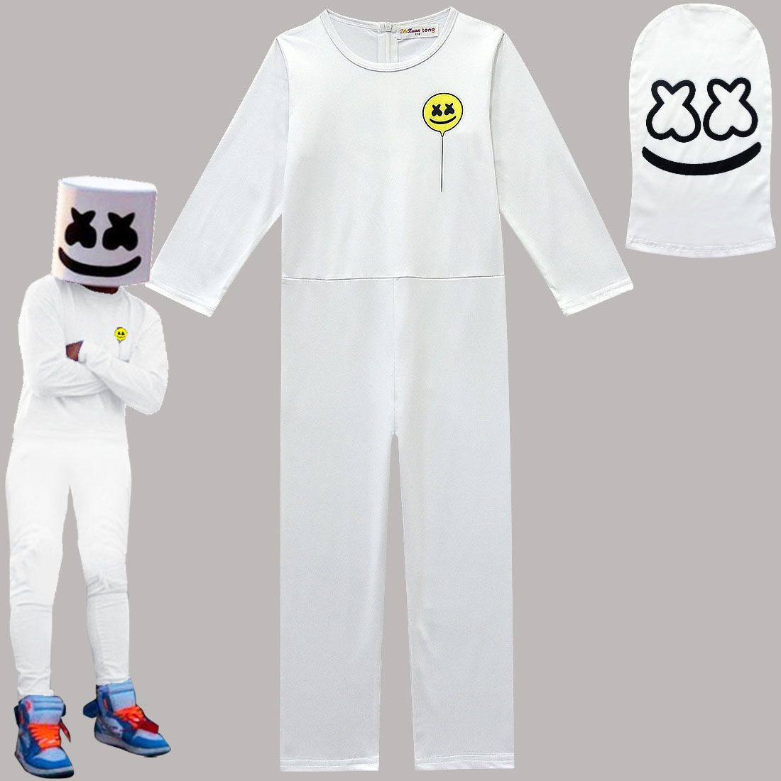 DJ Marshmallow Kids Costume - Halloween USA