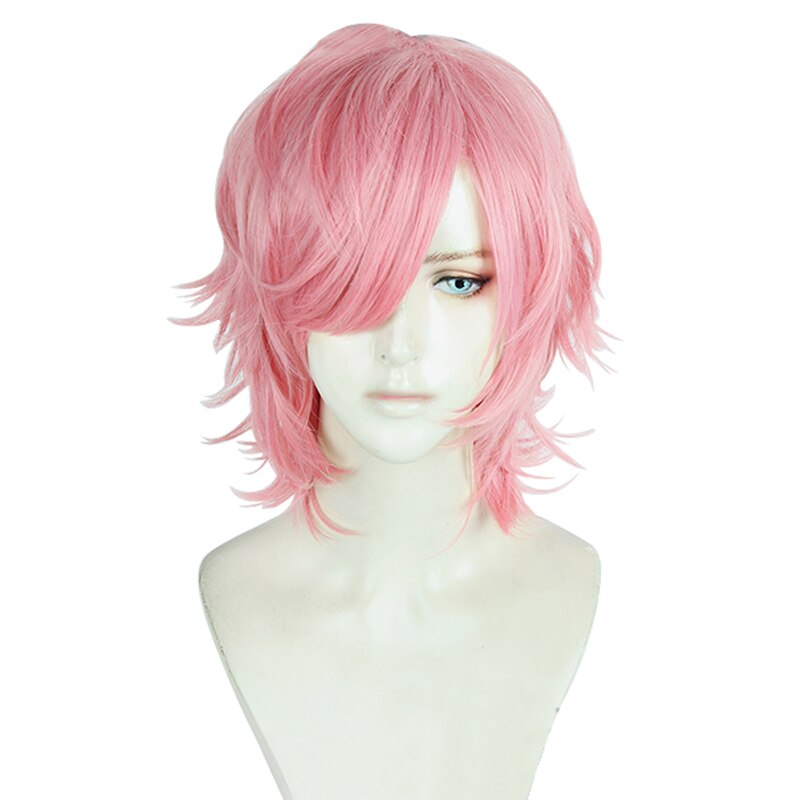 Pink Curly Wig - Halloween USA