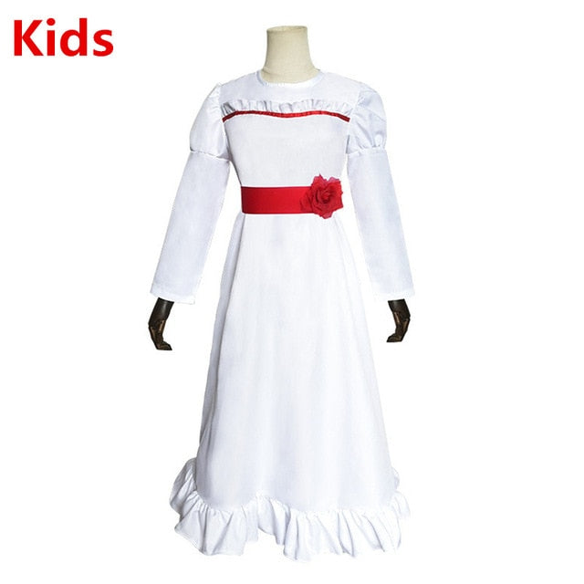 Movie Annabelle Costumes in kids and adult sizes - Halloween USA