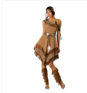 Pocahontas  Wild West Indian costume