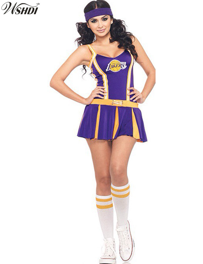 LA Lakers Cheerleader  Costume