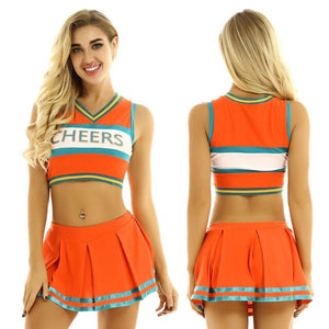 Women Cheerleader Costume