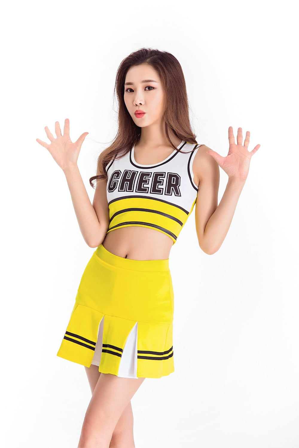 Sexy High School Cheerleader Costume