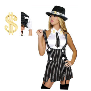 Gorgeous Gangster 20s Costume
