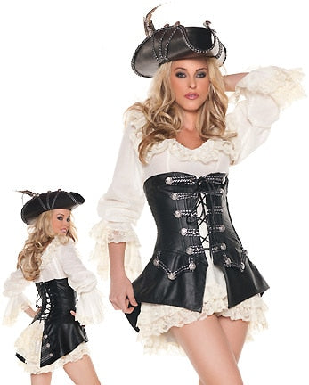 Punk Pirate Costume - Halloween USA