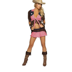 Country Cowgirl Adult Outfit - Halloween USA