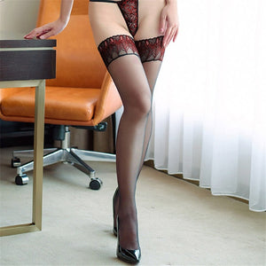 Thigh High Stay Up Nylon Stockings - Halloween USA