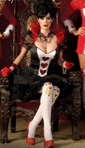 Sexy Queen Of Hearts Costume - Halloween USA