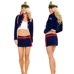 Sexy Sailor Costume - Halloween USA