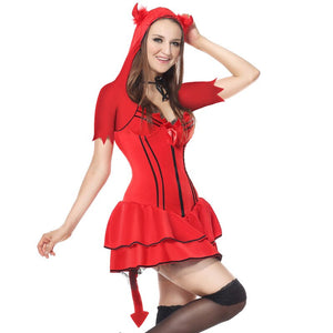 Red Sexy  Devil Costume - Halloween USA