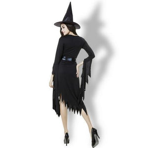 Hot  Witch Long Dress Costume - Halloween USA