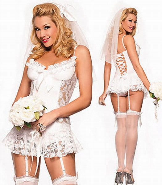 Sexy Bride Costume - Halloween USA