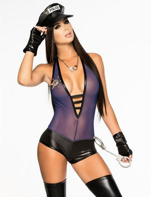 Sexy Police Uniform Temptation - Halloween USA
