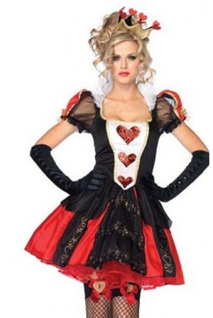 Alice in wonderland Queen of Heart Costume - Halloween USA