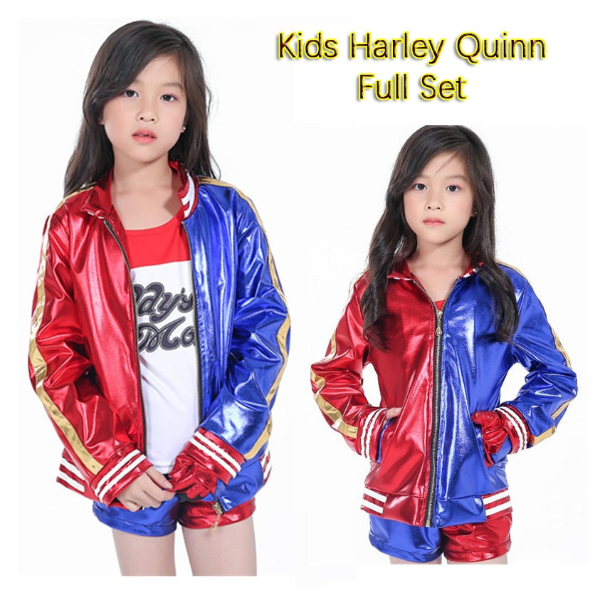 Girls Kids Harley Quinn Costume - Halloween USA