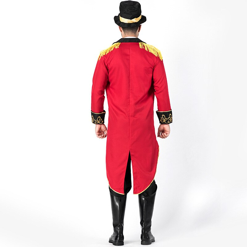 Deluxe Mens and Women's Ringmaster Costume - Halloween USA