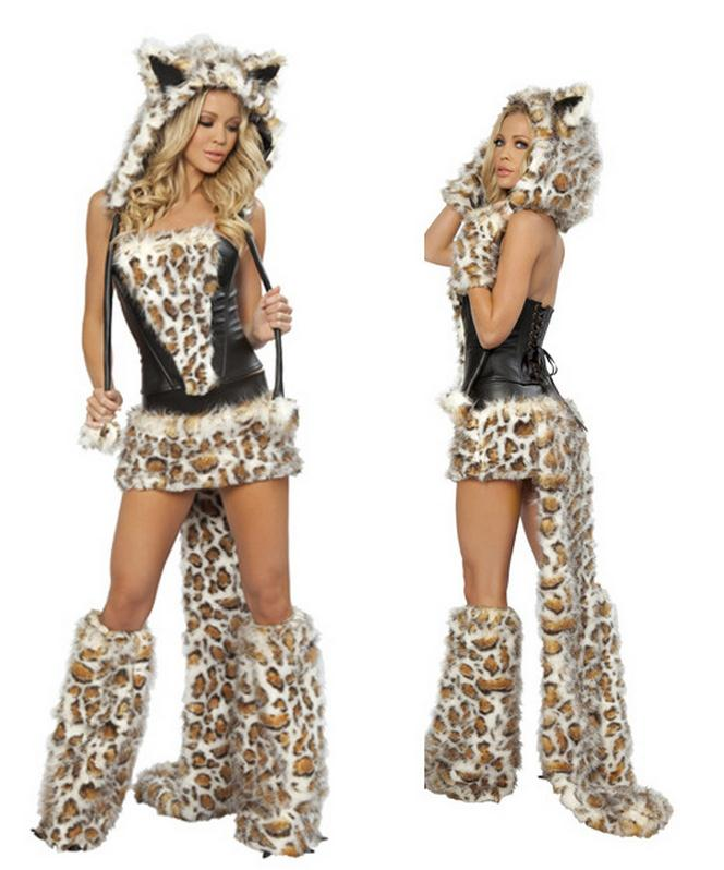 Sexy Leopard  Costumes - Halloween USA