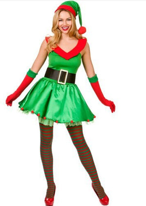 Sexy Santas Little Helper Costume - Halloween USA