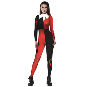 Suicide Squad Harley Quinn Catsuit - Halloween USA