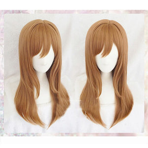 Ginger long hair  Wigs+wig Cap - Halloween USA