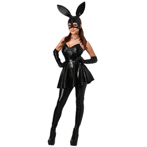 Sexy Bunny Rabbit Girl  PVC Costume - Halloween USA